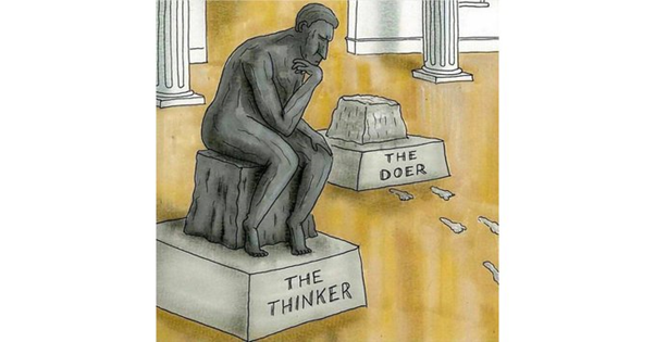 Doers need to think, and thinkers need to do – Matt Purcell